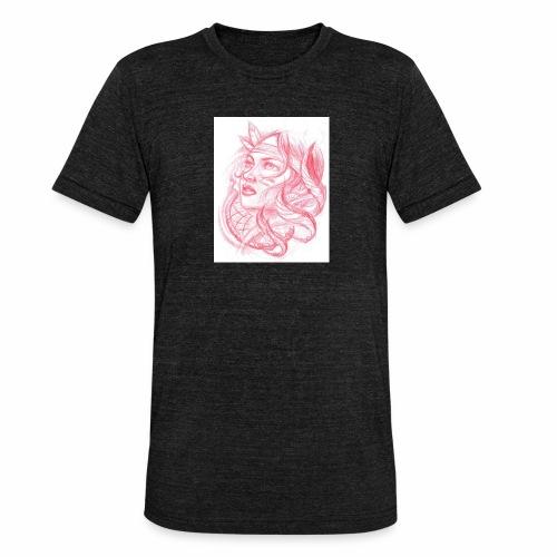Indian Female - Camiseta Tri-Blend unisex de Bella + Canvas