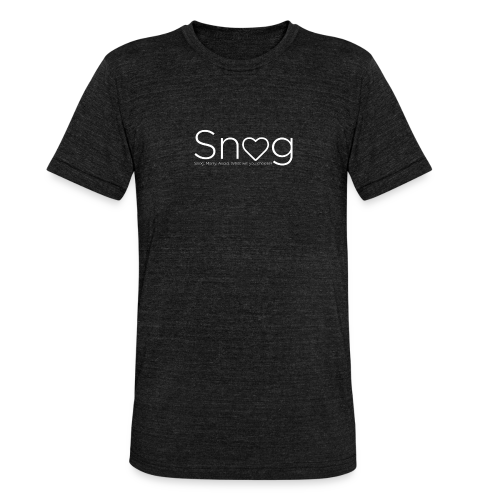 Snog Shirt - Unisex Tri-Blend T-Shirt by Bella & Canvas