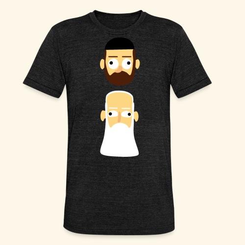 Stille Willem en Leipe Leo - Unisex tri-blend T-shirt van Bella + Canvas