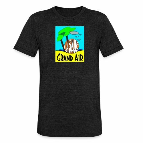 Grand-Air - T-shirt chiné Bella + Canvas Unisexe