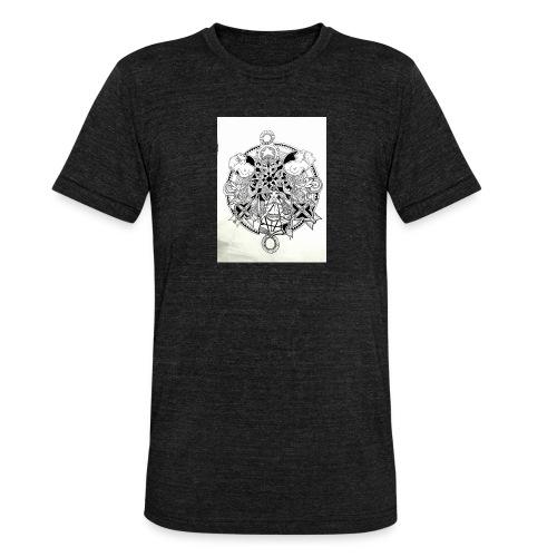 guerriere celtique entrelacs bretagne femme - T-shirt chiné Bella + Canvas Unisexe