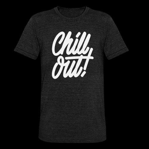 Chill Out - T-shirt chiné Bella + Canvas Unisexe