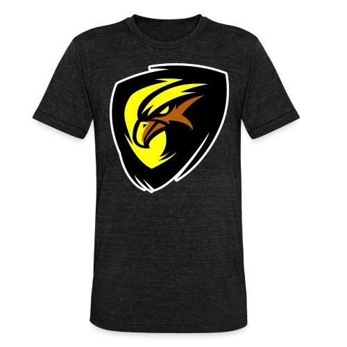 Plopp T-Shirt Svart - Triblend-T-shirt unisex från Bella + Canvas