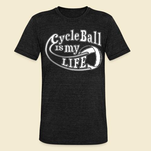 Radball   Cycle Ball is my Life - Unisex Tri-Blend T-Shirt von Bella + Canvas