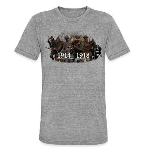 Classic WW1 Game Series - Unisex tri-blend T-shirt van Bella + Canvas