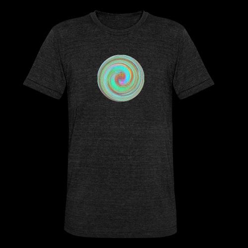 Illusion d'optique - T-shirt chiné Bella + Canvas Unisexe