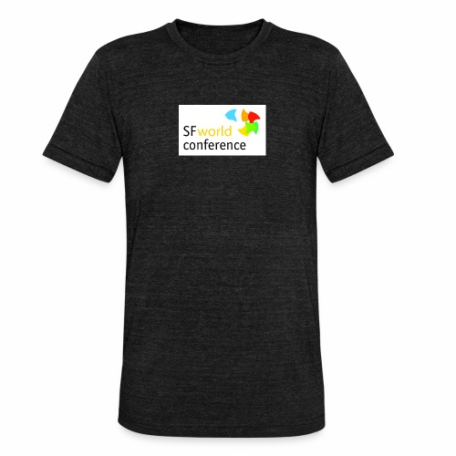 SFworldconference T-Shirts - Unisex Tri-Blend T-Shirt von Bella + Canvas