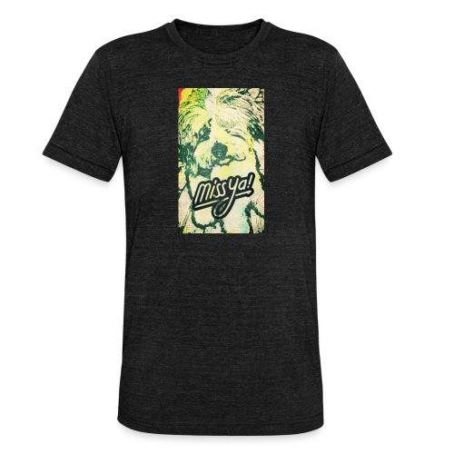 Musste, süsser Hund - Unisex Tri-Blend T-Shirt von Bella + Canvas