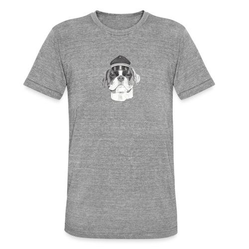 Boxer with cap - Unisex tri-blend T-shirt fra Bella + Canvas