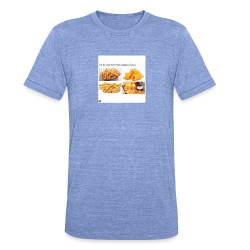 Shape - Unisex Tri-Blend T-Shirt von Bella + Canvas