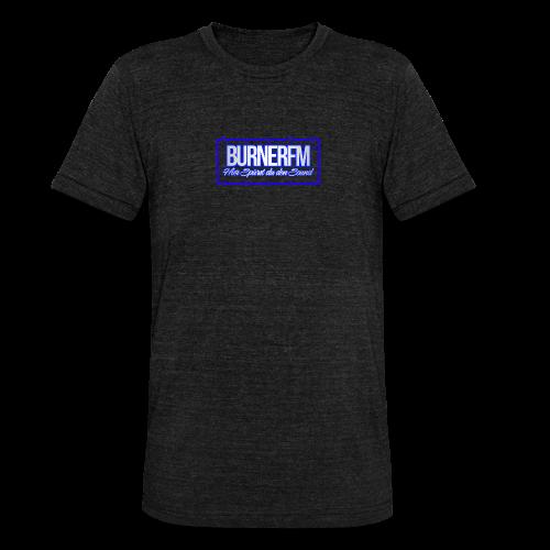 BurnerFM Hier Sürst du den Sound - Unisex Tri-Blend T-Shirt von Bella + Canvas