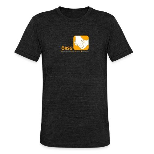 Logo der ÖRSG - Rett Syndrom Österreich - Unisex Tri-Blend T-Shirt von Bella + Canvas