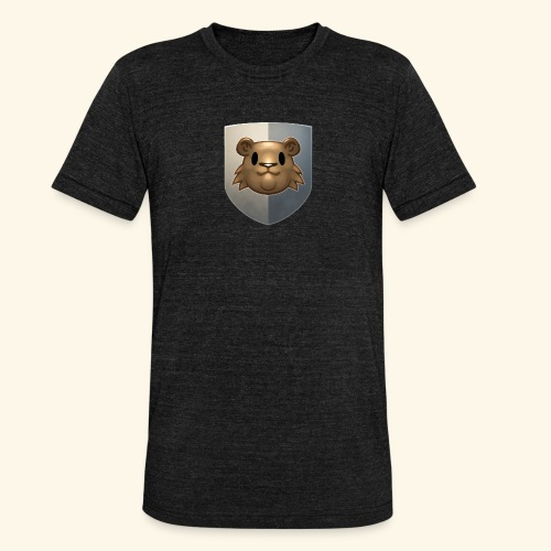 marmottes blason HD - T-shirt chiné Bella + Canvas Unisexe