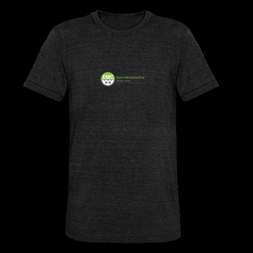 ElektroMobilitätsClub Logo - Unisex Tri-Blend T-Shirt von Bella + Canvas