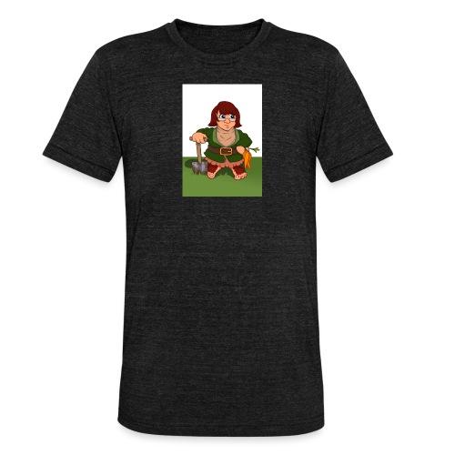 Petal's Potted Preserve - Unisex Tri-Blend T-Shirt by Bella & Canvas