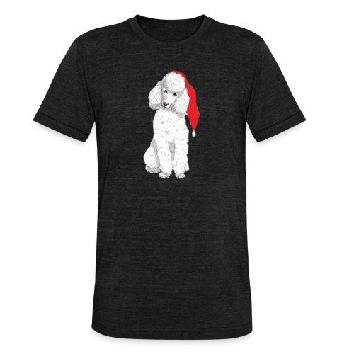 Poodle toy W - christmas - Unisex tri-blend T-shirt fra Bella + Canvas
