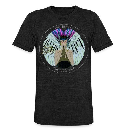 The Judgement | Das Gericht Tarot Karte rund - Unisex Tri-Blend T-Shirt von Bella + Canvas
