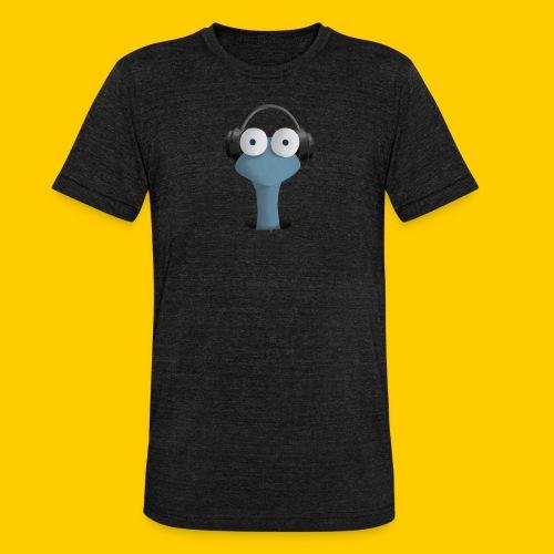 Musicworm - Triblend-T-shirt unisex från Bella + Canvas