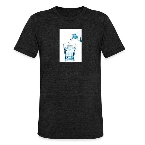 Glas-water-jpg - Unisex tri-blend T-shirt van Bella + Canvas
