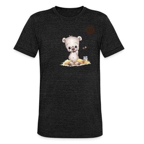 Noah der kleine Bär - Unisex Tri-Blend T-Shirt von Bella + Canvas
