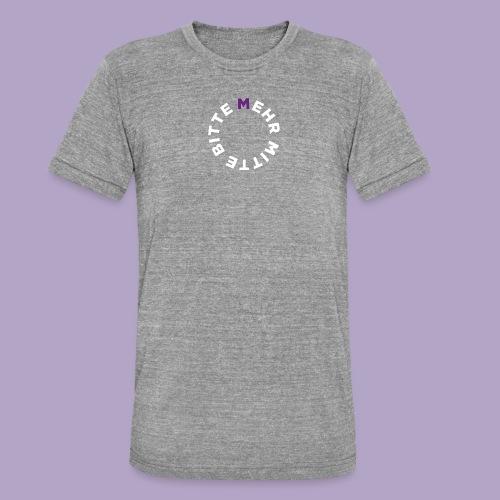 Mehr Mitte Bitte | Julius Raab Stiftung - Unisex Tri-Blend T-Shirt von Bella + Canvas