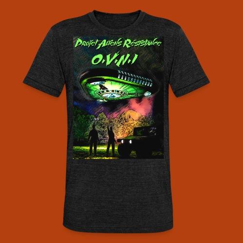 T Shirt ovni green 01 - T-shirt chiné Bella + Canvas Unisexe