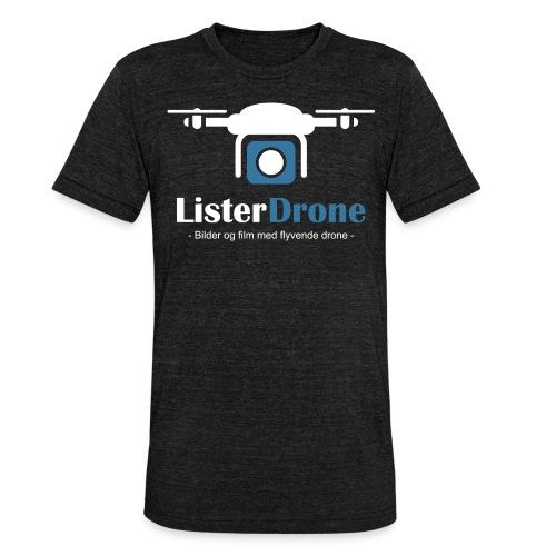ListerDrone logo - Unisex tri-blend T-skjorte fra Bella + Canvas