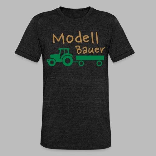 Modellbauer - Modell Bauer - Unisex Tri-Blend T-Shirt von Bella + Canvas