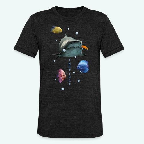 Instinkt - Unisex Tri-Blend T-Shirt von Bella + Canvas