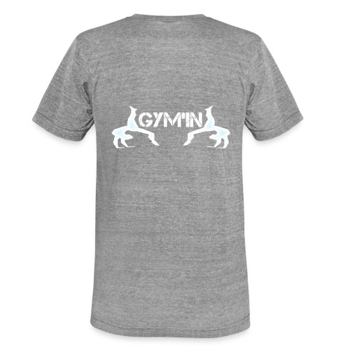 gym'n design - T-shirt chiné Bella + Canvas Unisexe