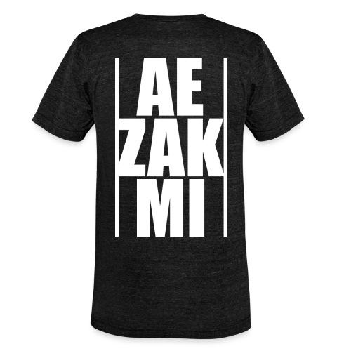AEZAKMI-white, back - Koszulka Bella + Canvas triblend – typu unisex