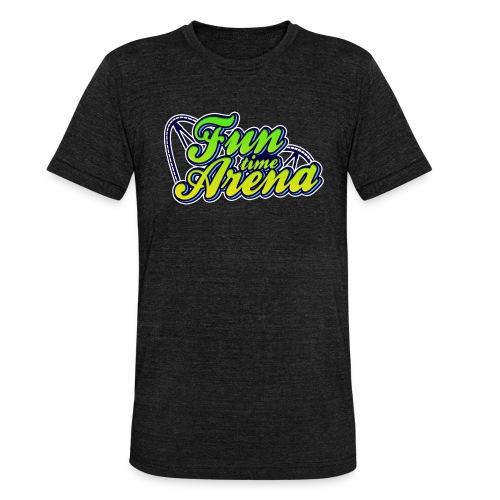 FunTime Schienen Front - Unisex Tri-Blend T-Shirt von Bella + Canvas