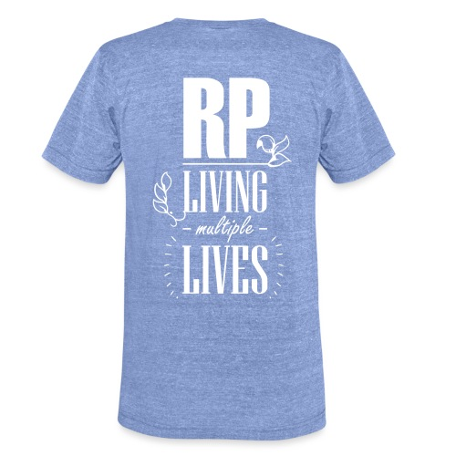 Role play - Living multiple lives - Unisex tri-blend T-shirt fra Bella + Canvas