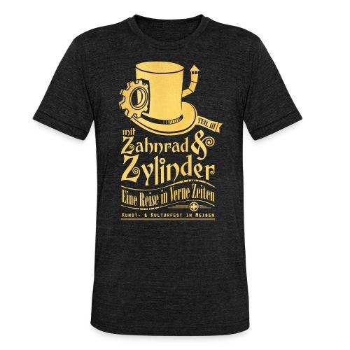 ZuZ 2019 + Brust- & Rückenmotiv - Unisex Tri-Blend T-Shirt von Bella + Canvas