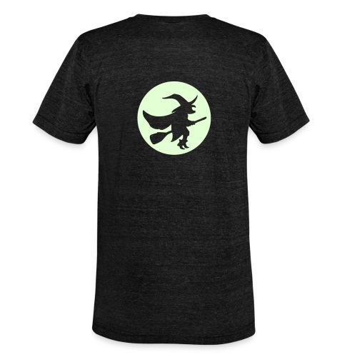 hexe_1farbig - Unisex Tri-Blend T-Shirt von Bella + Canvas