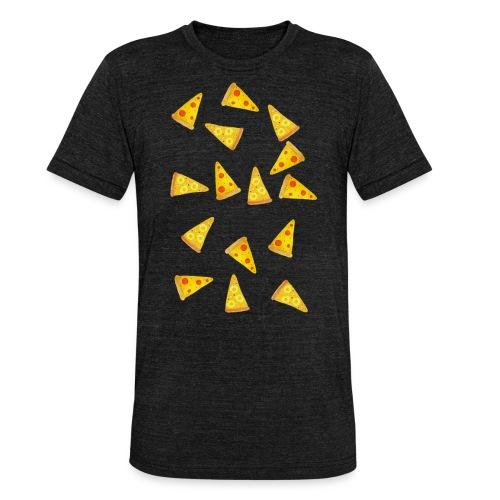 Pizza is Bae - Unisex Tri-Blend T-Shirt von Bella + Canvas