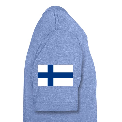 800pxflag of finlandsvg - Bella + Canvasin unisex Tri-Blend t-paita.