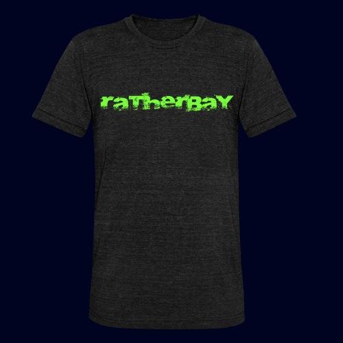 ratherbay logo - Unisex tri-blend T-skjorte fra Bella + Canvas