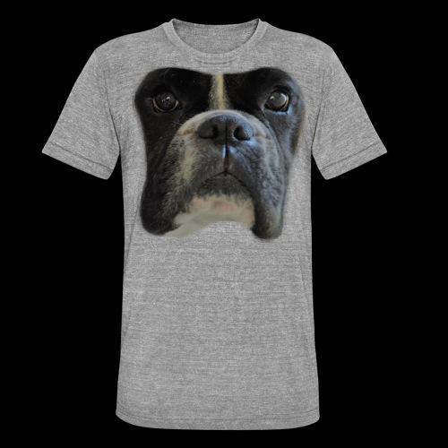 boxer big face - Unisex Tri-Blend T-Shirt by Bella & Canvas