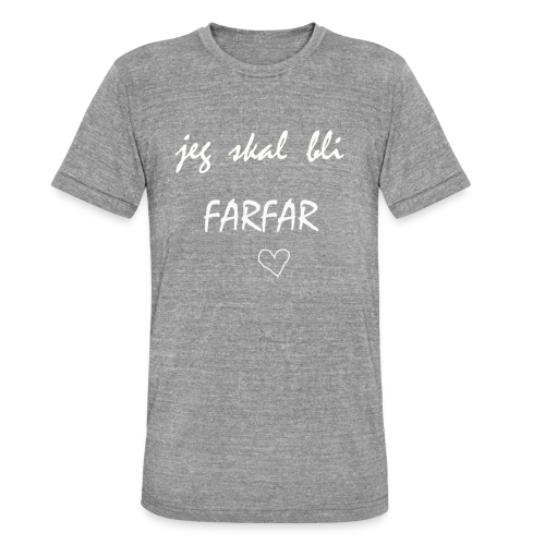 Farfar Collection - Unisex tri-blend T-skjorte fra Bella + Canvas