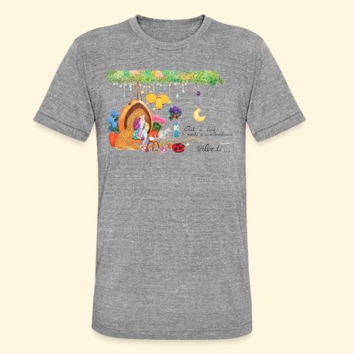 Tout à coup, le temps a considérablement ralenti - T-shirt chiné Bella + Canvas Unisexe