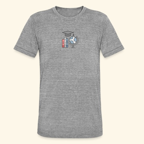 teacher knowledge learning University education pr - Unisex tri-blend T-shirt fra Bella + Canvas