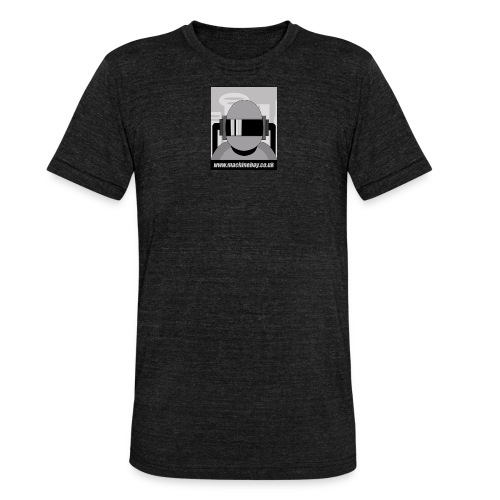 Machine Boy - Action Figures - Unisex Tri-Blend T-Shirt by Bella + Canvas