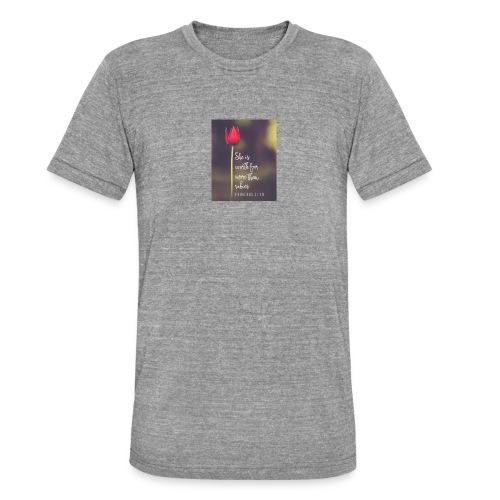IMG 20180308 WA0027 - Unisex Tri-Blend T-Shirt by Bella & Canvas