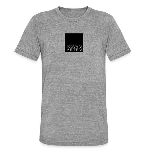 NOVAM ARTEM BLACK SQUARE - Unisex tri-blend T-shirt fra Bella + Canvas