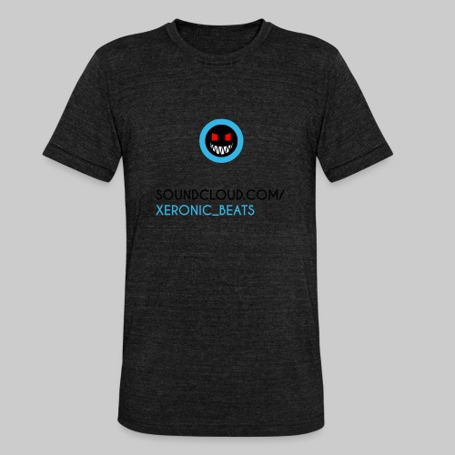 XERONIC LOGO - Unisex Tri-Blend T-Shirt by Bella & Canvas