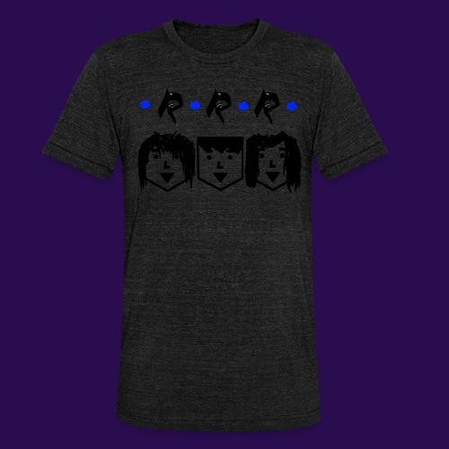 RRR - Heads - Unisex Tri-Blend T-Shirt von Bella + Canvas