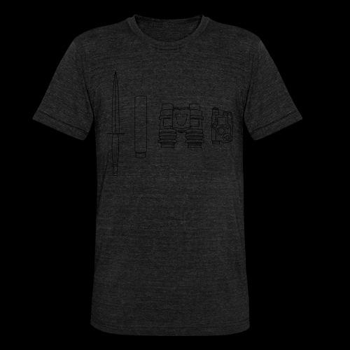 SOPMOD schwarz - Unisex Tri-Blend T-Shirt von Bella + Canvas