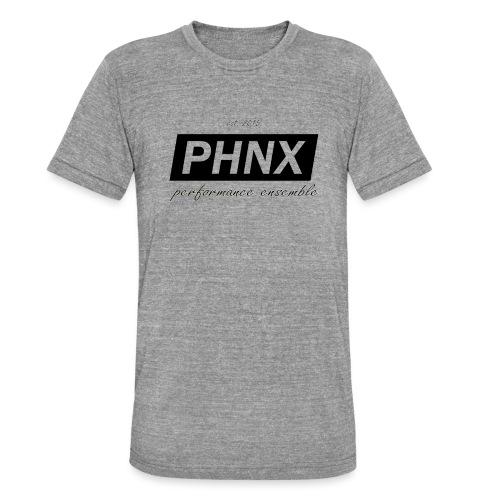PHNX /#black/ - Unisex Tri-Blend T-Shirt von Bella + Canvas