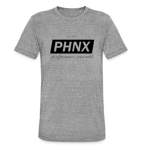PHNX /#black/ - Unisex Tri-Blend T-Shirt von Bella + Canvas